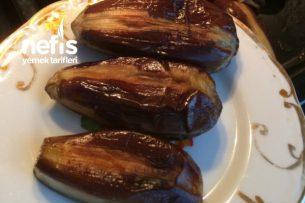 Yağda Kızartmaya Son Kışlık Karnıyarıklık Patlıcan Tarifi