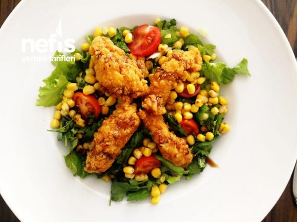 Chicken Fingers Salata