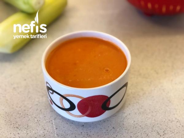 Pratik Domates Çorbası