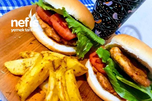Tavukburger Menü Nasıl Hazırlanır Tüm Detaylarıyla Bu Tarifde Tarifi