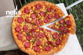 Tüm Detaylarıyla Pizza (Bayılacaksınız) Tarifi
