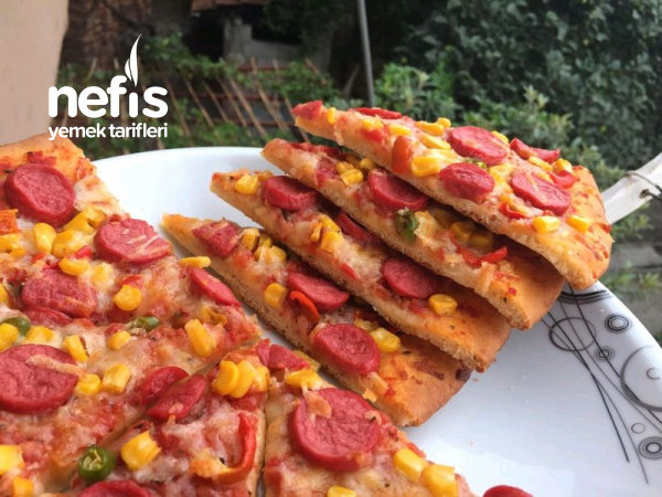 Tüm Detaylarıyla Pizza (Bayılacaksınız)