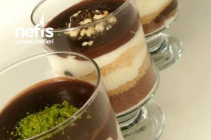 Çikolata Soslu Bisküvili Kup Tarifi