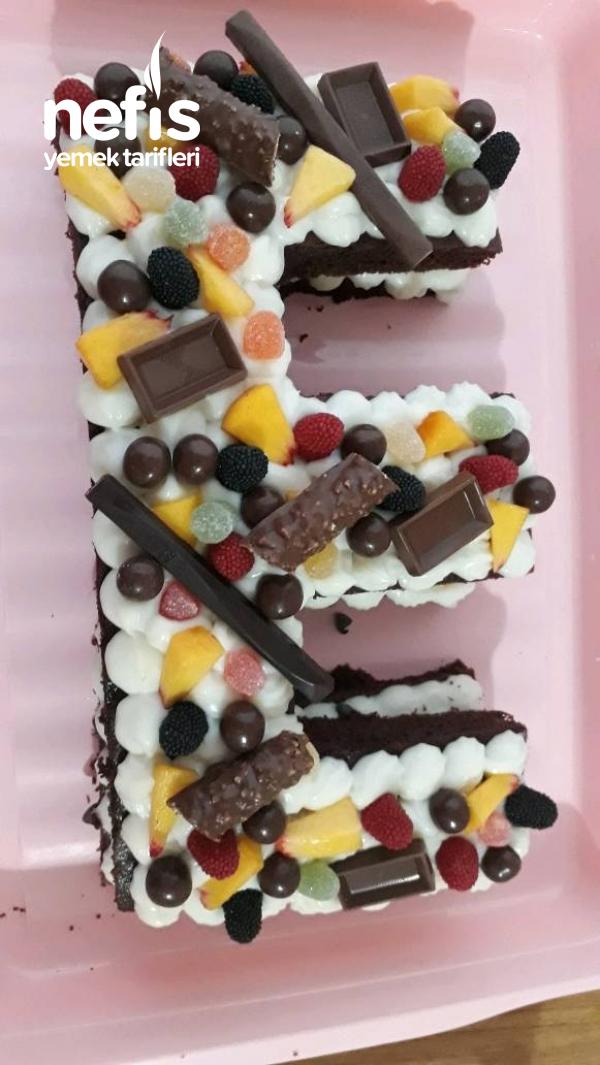 Harf Pasta (Oğlumun Doğum Günü Pastası)