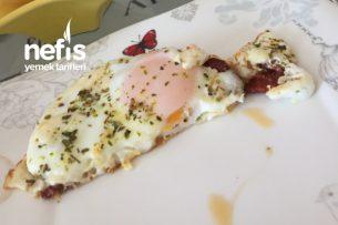 Kekikli Kaşarlı Yumurtalı Sucuk Tarifi
