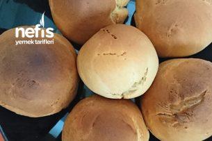 Küçük Yuvarlak Ekmek (Az Malzemeli) Tarifi