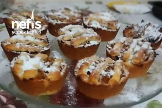 Mini Elmalı Tart Tarifi