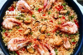 Paella Deniz Mahsulleri (İspanya Mutfağı) Tarifi