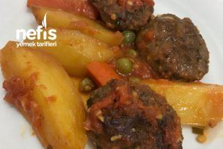 Patatesli Köfte Yemeği Tarifi