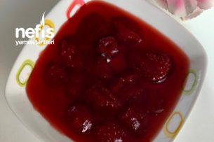 Çilek Reçeli (Parlak Kırmızı Renkli) Tarifi