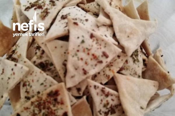 Diyet Mısırlı Cips Tarifi