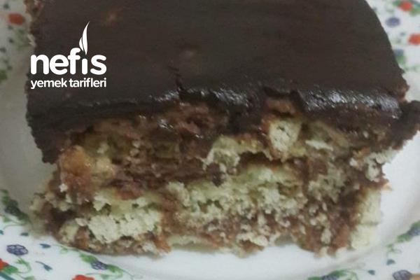 Kakaolu Vogue Pasta ( Bisküviden) Tarifi