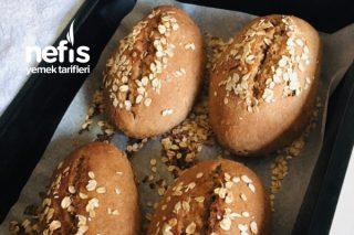 Keten Tohumlu Cevizli Tam Buğday Sandviç Ekmekçikleri Tarifi