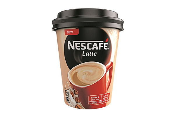 nescafe latte kaç kalori