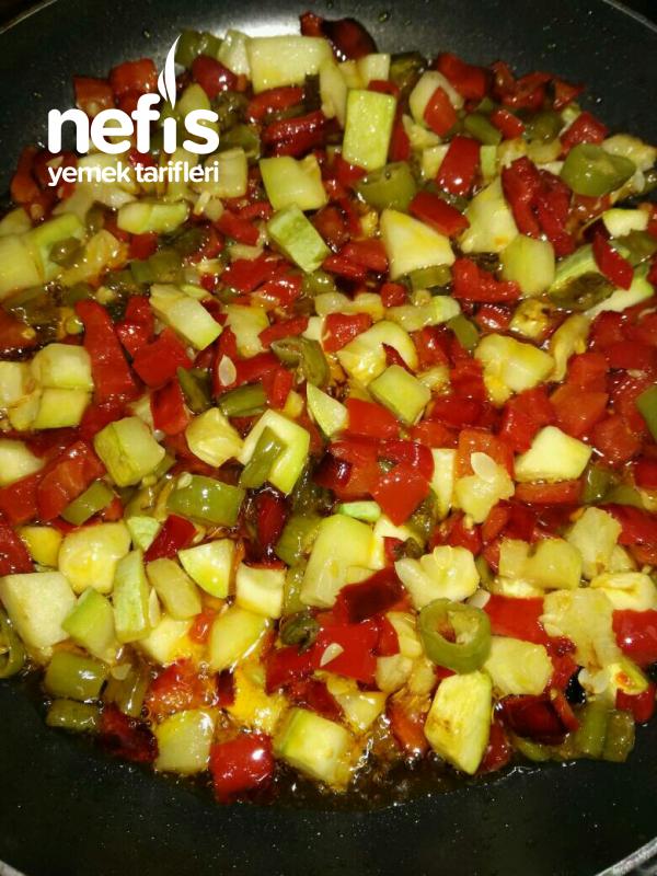Nohutlu Yaz Salatası