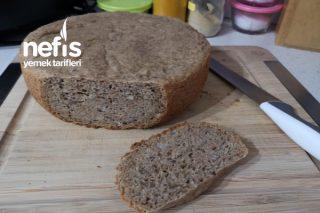 Cevizli Bademli Çavdarlı Tam Buğday Ekmeği Tarifi