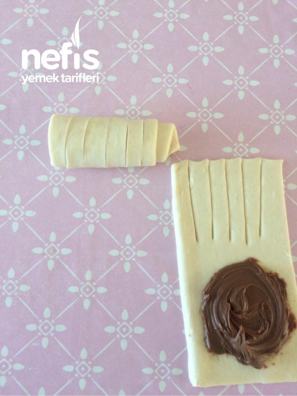 Çikolatalı Çıtır Milföy