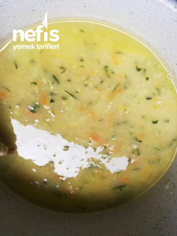 Kabakli, Havuçlu Ve Patatesli Çorba
