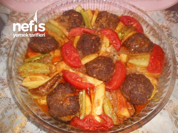 Parmesan Peynirli Tarçınlı Anne Köftesi