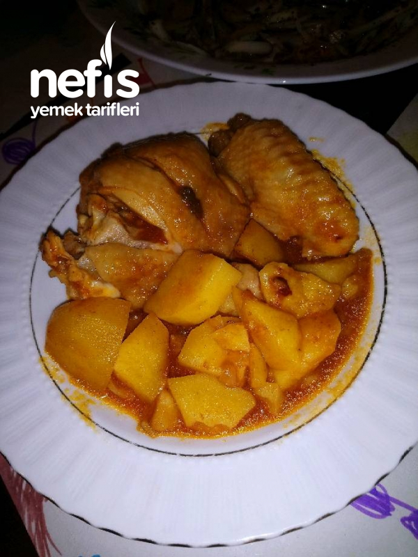 Tavuklu Patates