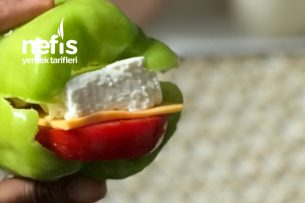 Biber Sandviç (Diyette Ara Öğün) Tarifi