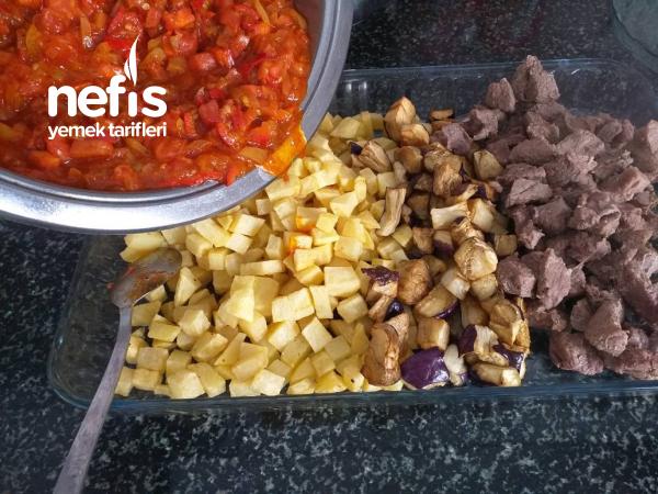 Firinda Sebze Kebabı