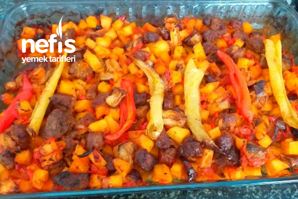 Fırında Sebze Kebabı Tarifi