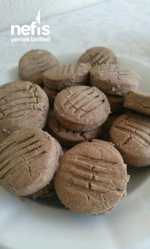 Kakaolu Un Kurabiyesi (Sütsüz,yumurtasız)