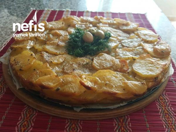 Patates Tortillasi ( Yumurtasız)