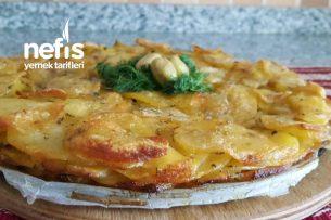 Patates Tortillası (Yumurtasız) Tarifi