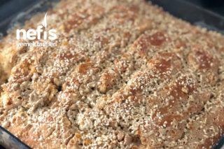 Tahinli Pekmezli Susamlı Kek (Sütle) Tarifi
