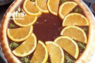 Çikolatalı Portakallı Tart Kek Tarifi