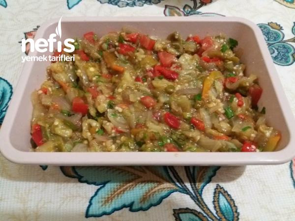 Köz Sebze Salatası
