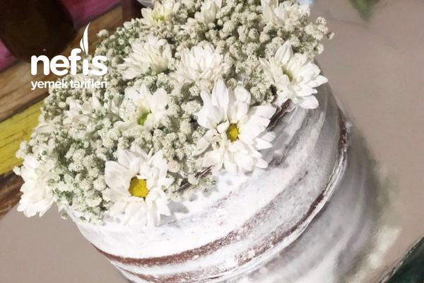 Özel Günler İçin Yaş Pasta (Çıplak Pasta Çok Kolay Ve Efsane Bir Tat) Tarifi