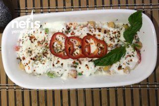 Patlıcanlı Yoğurtlu Doyurucu Salata Tarifi