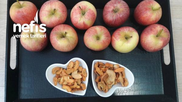 Kurutulmuş Elma (Sağlıklı Atıştırmalık)