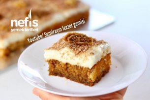Muhallebili İncirli Enfes Pasta (Videolu) Tarifi