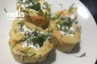Patates Rulo ( Garnitürlü) Soğuk Meze Tadında Tarifi