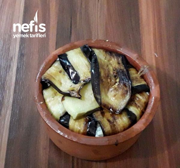 Patlıcanlı Kavurmalı Pilav