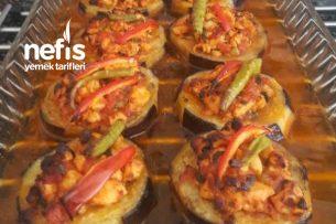 Porsiyonluk Tavuklu Patlıcan Tarifi