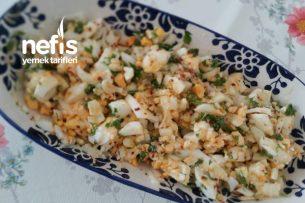 Yumurta Salatası ( Kahvaltıya ) Tarifi