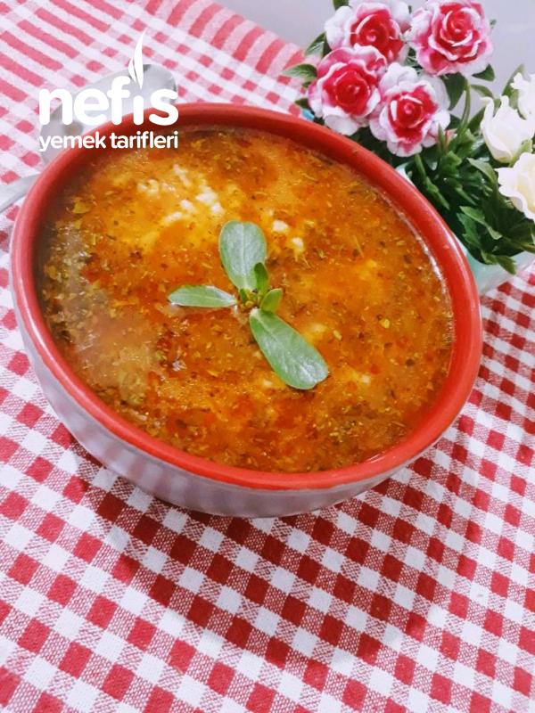 Zahmetsiz Pirinç Çorbası