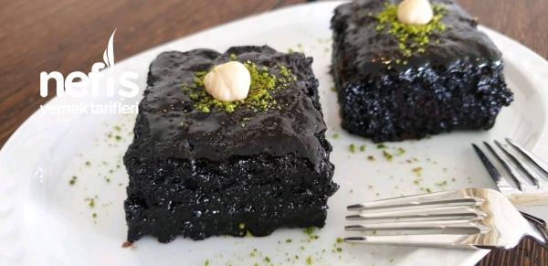 Çikolatalı Soslu Islak Kek (Tam kıvamında, tam lezzet)