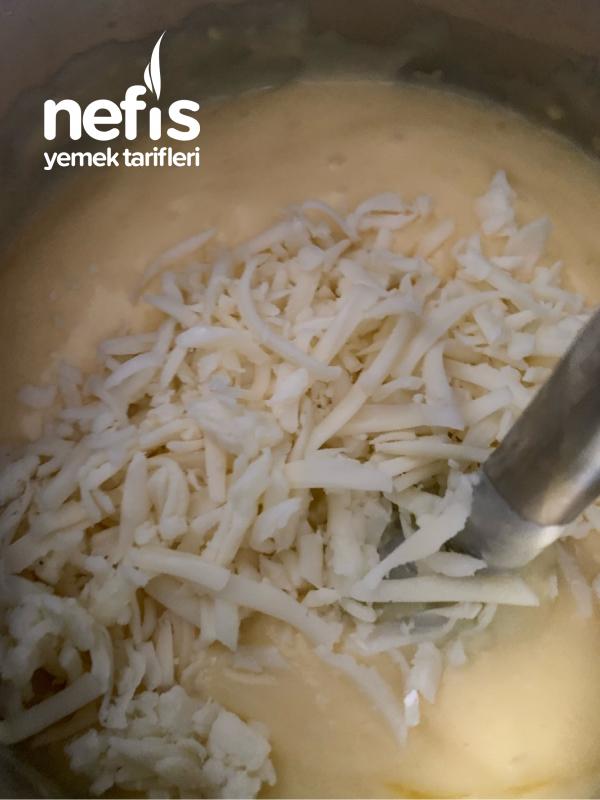 Kaşar Peynirli Patates Püresi
