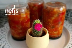 Kışlık Konserve Patlıcan Tarifi