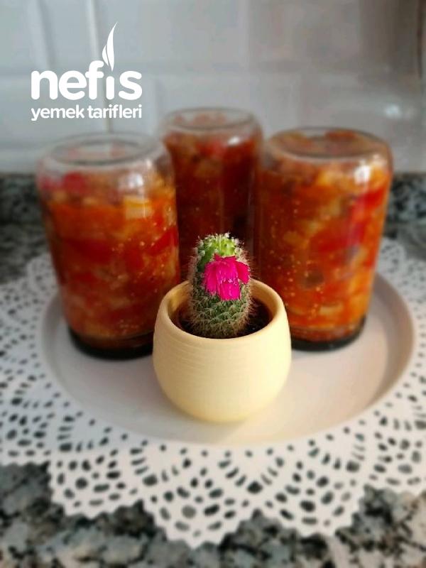 Kışlık Konserve Patlıcan