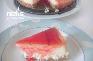 Meyve Soslu Cheesecake Tarifi
