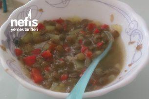 Yeşil Mercimek Çorbası  8ay Tarifi