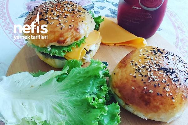 Ev Yapımı Hamburger Ekmeği Denemeyen Kalmasın Tarifi