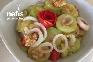 Kabak Salatası (Tam Diyete Uygun) Tarifi